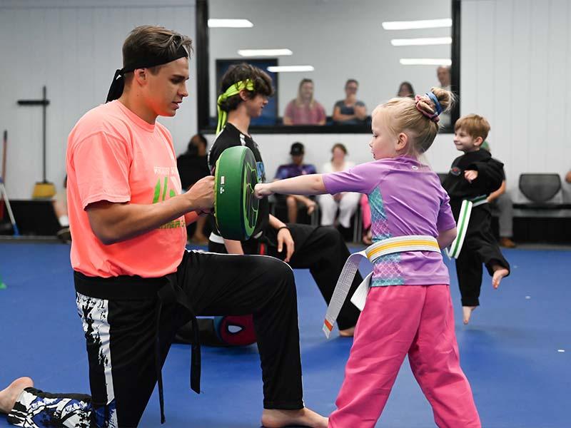 Preschool Martial Arts 1, Sma Karate Spartanburg, SC