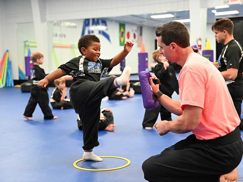 Preschool Martial Arts 2, Sma Karate Spartanburg, SC