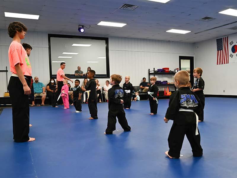 Preschool Martial Arts 3, Sma Karate Spartanburg, SC